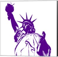Liberty in Purple Fine-Art Print