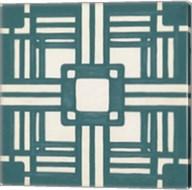 Non-Embellished Deco Tile I Fine-Art Print