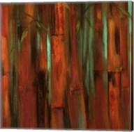 Sunset Bamboo I Fine-Art Print