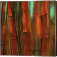 Sunset Bamboo II Fine-Art Print