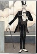 Art Deco Gentleman Fine-Art Print
