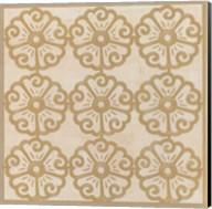 Floral Trellis I Fine-Art Print