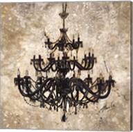 Onyx Chandelier Fine-Art Print