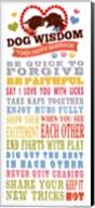 Dog Wisdom-Happy Marriage Fine-Art Print