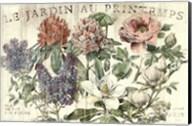 Le Jardin Printemps Fine-Art Print
