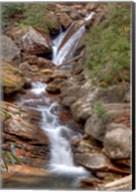 Skinny Dip Falls in Western North Carolina Fine-Art Print