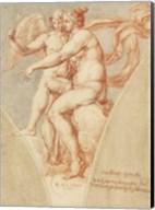 Venus and Cupid after Raphael Fine-Art Print