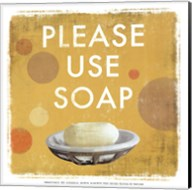 Please Use Soap-Mini Fine-Art Print