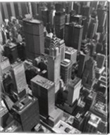 Chrysler Building And Midtown Manhattan Fine-Art Print