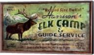 Elk Camp Fine-Art Print