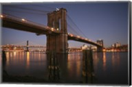 Brooklyn Bridge Twilight Fine-Art Print