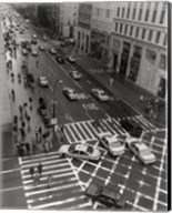 Aerial View 5th Ave NYC Fine-Art Print