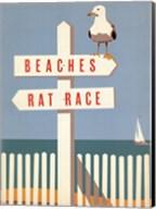 Beaches vs. Rat Race Fine-Art Print