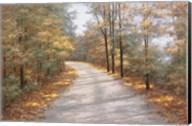 Walking in Fall Fine-Art Print