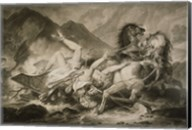Death of Hippolytos Fine-Art Print