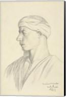 Portrait of an Egyptian Fellah Fine-Art Print