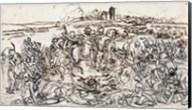 Napoleon at the Battlefield of Eylau Fine-Art Print