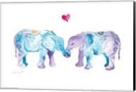 Elephants in Love Fine-Art Print