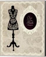 Chic Dress Form I Fine-Art Print