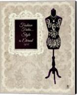 Chic Dress Form II Fine-Art Print