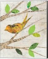 Birds in Spring II Fine-Art Print
