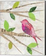 Birds in Spring IV Fine-Art Print