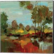 Hidden Pond Hues II Fine-Art Print