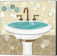 Dancing Bubbles I Fine-Art Print