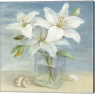 Lilies and Shells Fine-Art Print