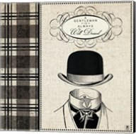 Gentleman I Fine-Art Print