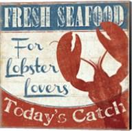 Fresh Seafood I Fine-Art Print