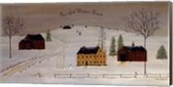 Peaceful Winter Land Fine-Art Print