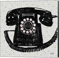 Vintage Analog Phone Fine-Art Print