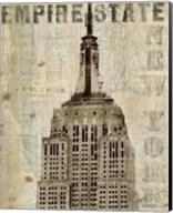 Vintage NY Empire State Building Fine-Art Print
