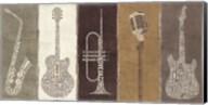 Type Band Neutral Panel Fine-Art Print