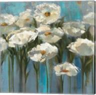 Anemones by the Lake Sq Fine-Art Print