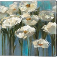 Anemones by the Lake Sq Fine-Art Print