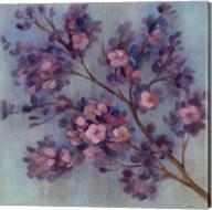 Twilight Cherry Blossoms II Fine-Art Print