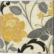 Perfect Petals I Yellow Fine-Art Print