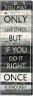 Zephyr Quote I Fine-Art Print