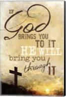 If God Brings You To It Fine-Art Print