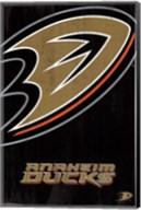 Anaheim Ducks® - Logo 13 Wall Poster
