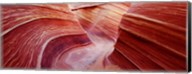 Pink sandstone rock formations, The Wave, Coyote Buttes, Utah, USA Fine-Art Print