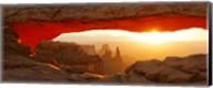 Mesa Arch at sunset, Canyonlands National Park, Utah, USA Fine-Art Print