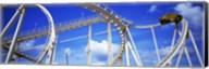 Batman The Escape Rollercoaster, Astroworld, Houston, Texas, USA Fine-Art Print