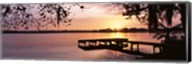 Lake Whippoorwill, Sunrise, Florida Fine-Art Print