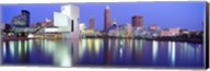 Museum, Rock And Roll Hall Of Fame, Cleveland, USA Fine-Art Print