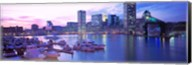 Sunset, Inner Harbor, Baltimore, Maryland, USA Fine-Art Print