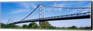 USA, Philadelphia, Pennsylvania, Benjamin Franklin Bridge over the Delaware River Fine-Art Print