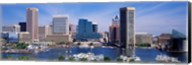 Inner Harbor Federal Hill Skyline Baltimore MD Fine-Art Print
